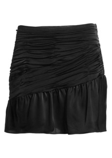 Ramy Brook Ruched Mini Skirt