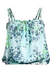 Ramy Brook Siena Floral Silk Camisole