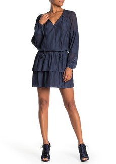 Ramy Brook Winnie Chiffon Sleeve Dress