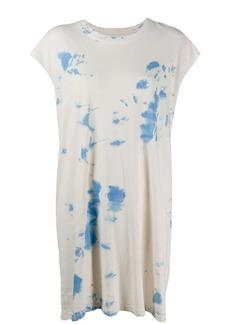 Raquel Allegra dyed-effect T-shirt dress
