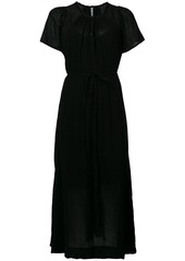 Raquel Allegra long T-shirt dress