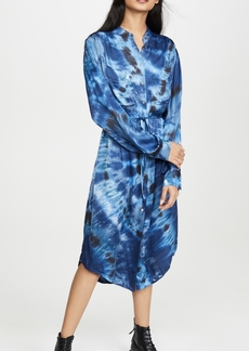 Raquel Allegra Cargo Shirt Dress