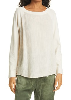Women's Raquel Allegra Raglan Cotton Top