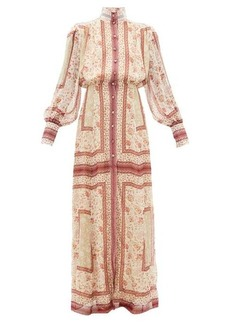 Raquel Diniz Marella floral-print silk-georgette dress
