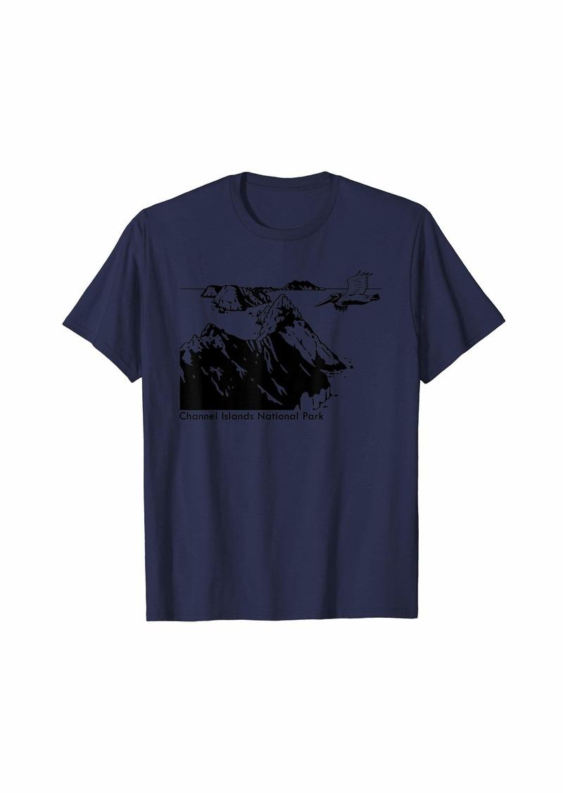 Raven Clothing Anacapa Island California T-Shirt
