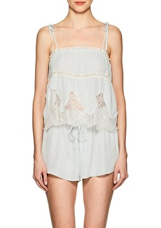 Raven Clothing Raven & Sparrow by Stephanie Seymour Women's Annie Silk Georgette Camisole
