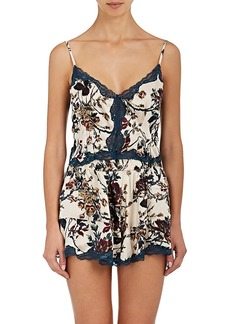 Raven Clothing Raven & Sparrow by Stephanie Seymour Women's Emily Silk Camisole