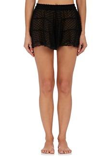 Raven Clothing Raven & Sparrow by Stephanie Seymour Women's Emily Silk Fil Coupé Shorts