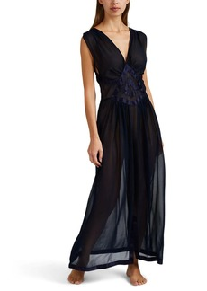 Raven Clothing Raven & Sparrow by Stephanie Seymour Women's Madelyn Silk Chiffon Gown