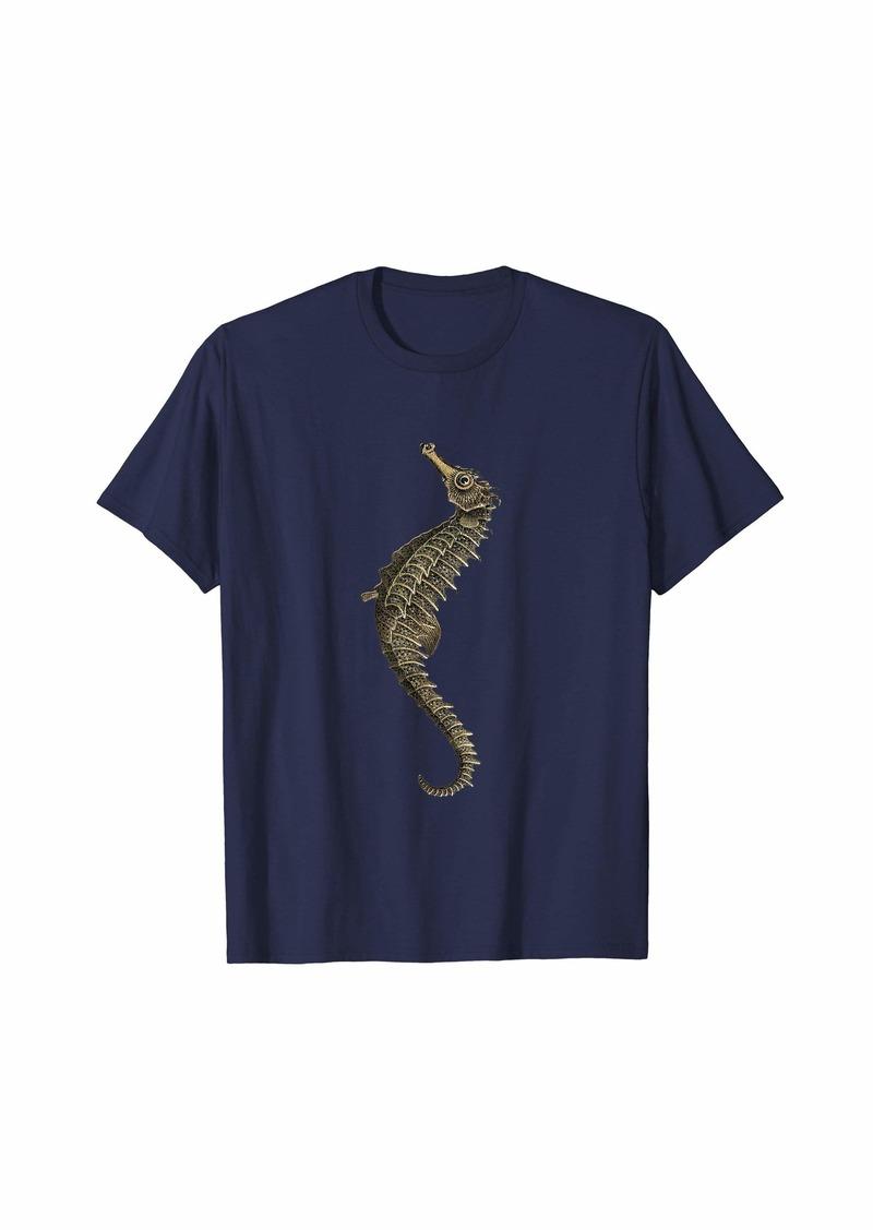 Raven Clothing Sea Horse  T-Shirt