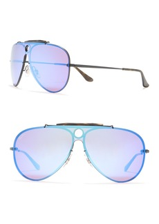 Ray-Ban 132mm Aviator Shield Sunglasses