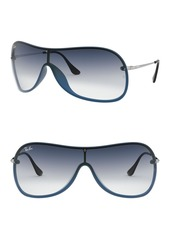 Ray-Ban 160mm Gradient Shield Sunglasses