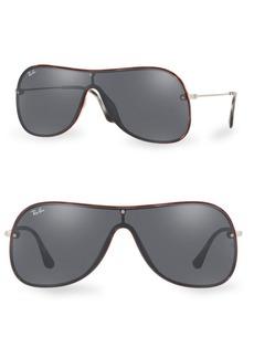 Ray-Ban 38MM Mirror Aviator Sunglasses