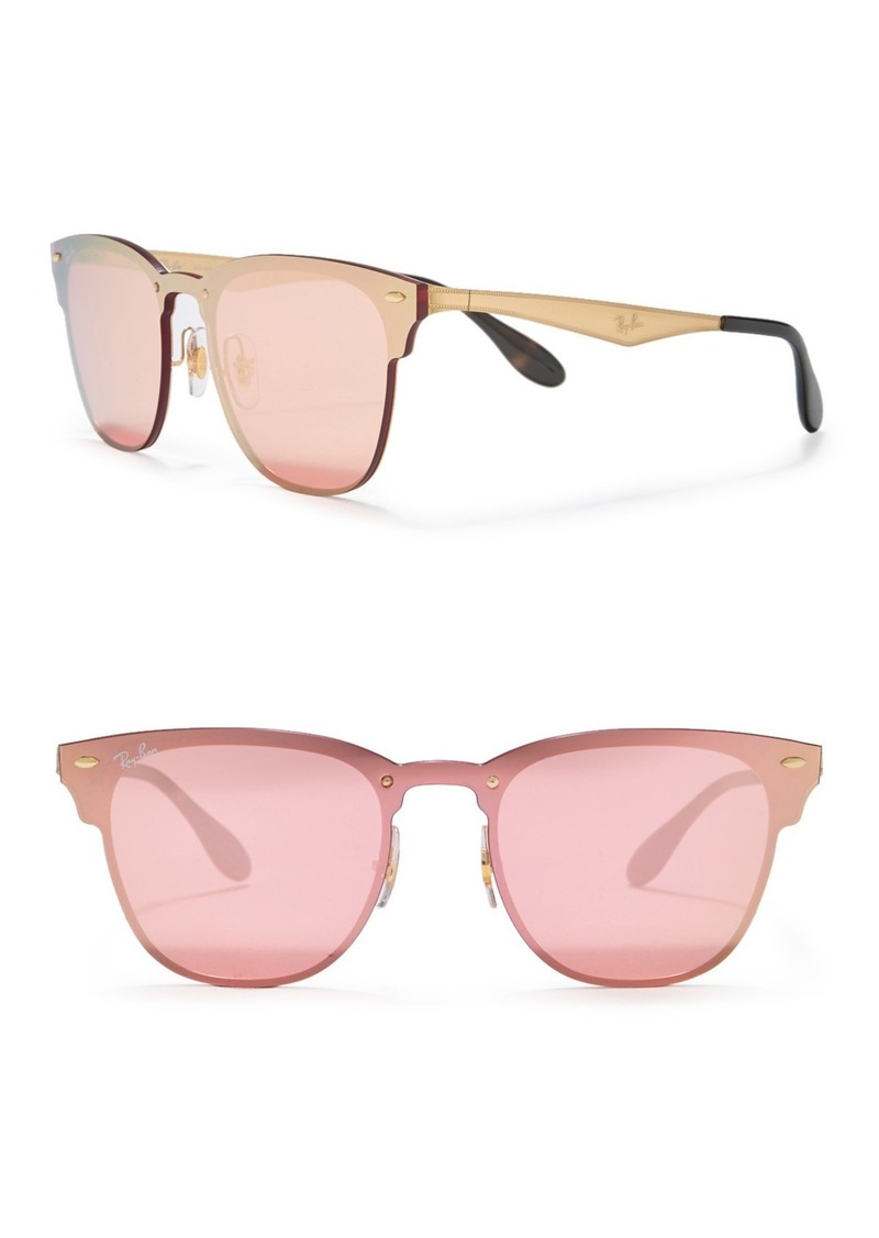 Ray-Ban 41mm Square Shield Sunglasses