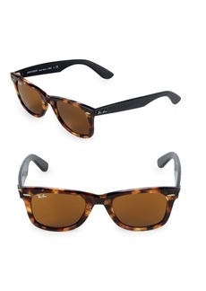 Ray-Ban 47MM Classic Square Wayfarer Sunglasses