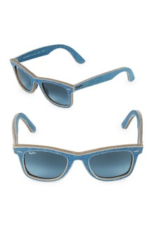 Ray-Ban 50MM Classic Wayfarer Denim Sunglasses
