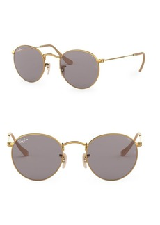 Ray-Ban 50MM Round Wire Sunglasses