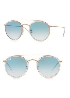 Ray-Ban 51MM Iconic Round Aviator Sunglasses