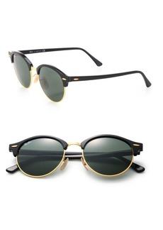 Ray-Ban 51MM Mirrored Round Metal Sunglasses