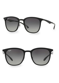 Ray-Ban 51MM Squared Nylon Sunglasses