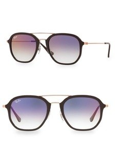 Ray-Ban 52MM Double Bridge Colored Sunglasses