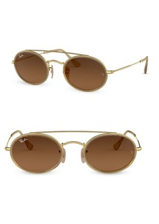 Ray-Ban 52MM Oval Sunglasses