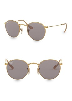 Ray-Ban 53MM Bright Round Sunglasses