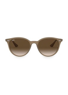 Ray-Ban RB4305 53MM Highstreet Round Sunglasses
