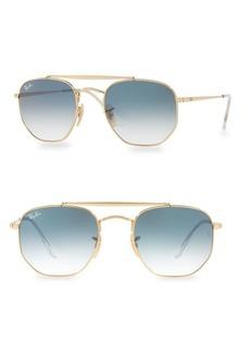 Ray-Ban 54MM Round Aviator Sunglasses