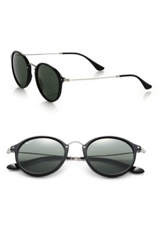 55MM Round Sunglasses