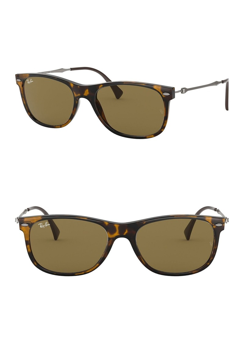 Ray-Ban 55mm Square Sunglasses
