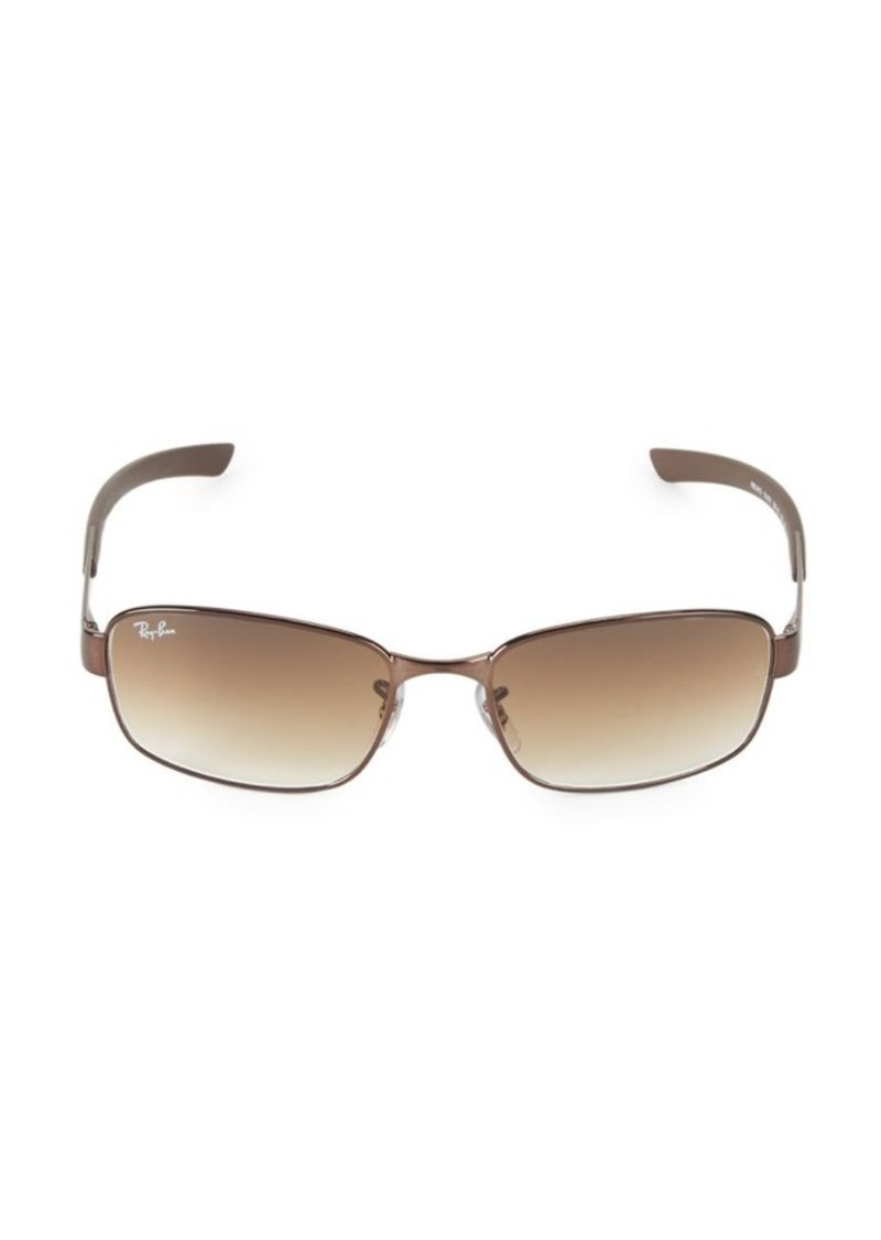 Ray-Ban 56MM Rectangular Sunglasses
