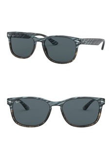 Ray-Ban 57mm Square Sunglasses