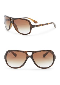 Ray-Ban 59mm Pilot Aviator Sunglasses