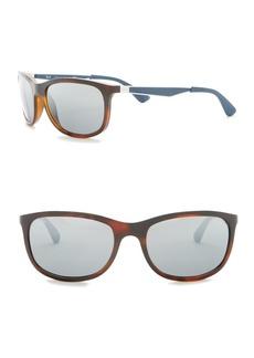 Ray-Ban 59mm Rectangle Sunglasses