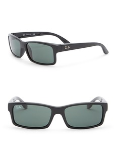 Ray-Ban 59mm Rectangle Sunglasses