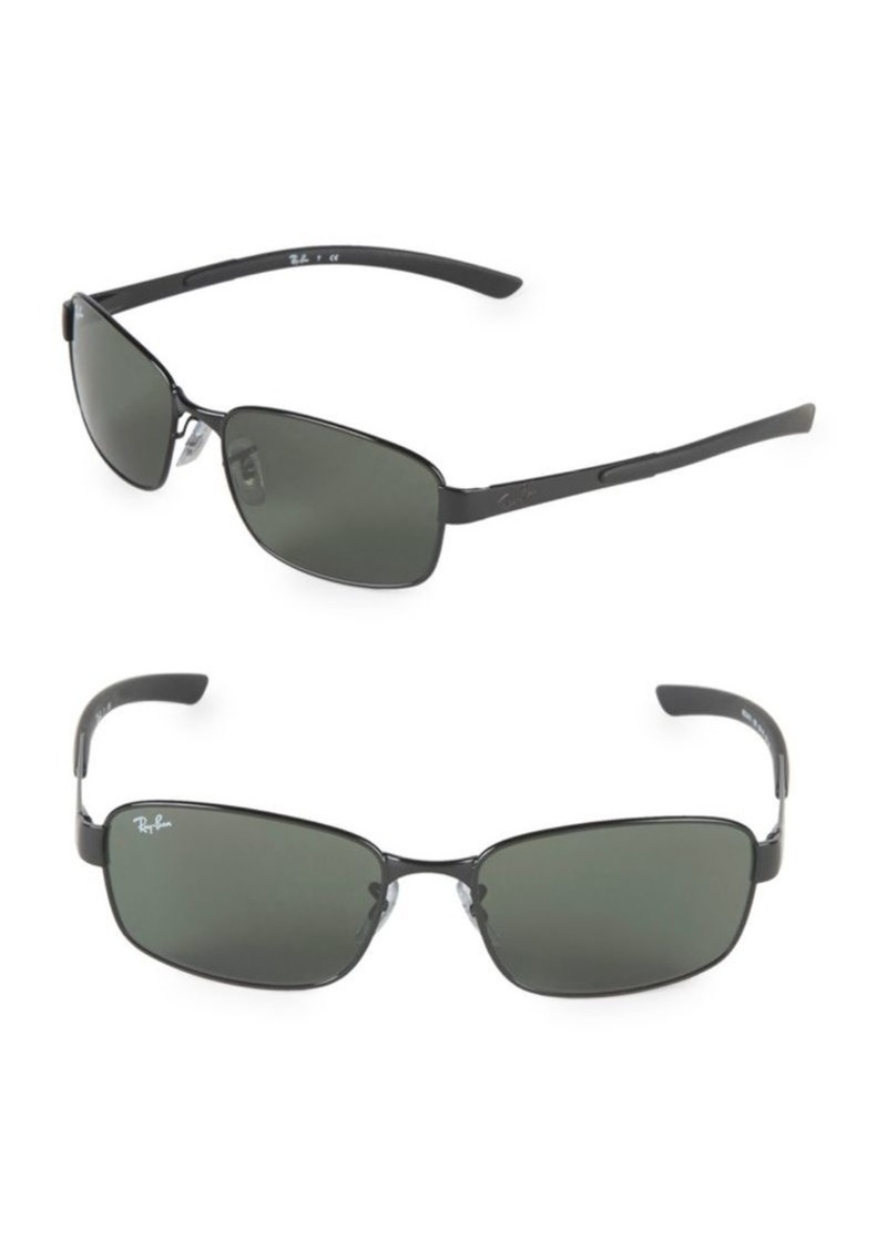 d425fed168485 On Sale today! Ray-Ban 59MM Rectangle Sunglasses