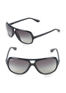 Ray-Ban 59MM Square Aviator Sunglasses