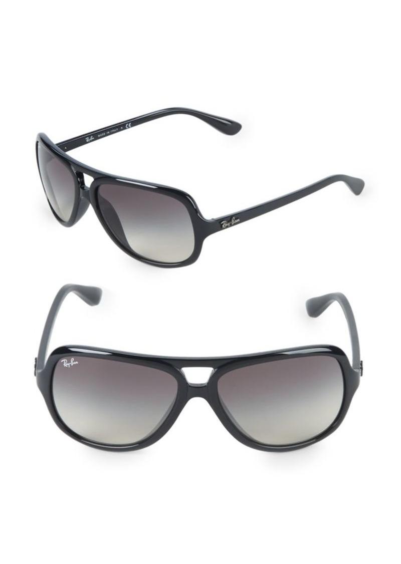 Ray-Ban 59MM Pilot Sunglasses
