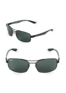 Ray-Ban 62MM Rectangle Sunglasses