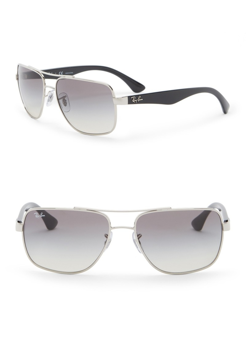 Ray-Ban 60mm Navigator Sunglasses