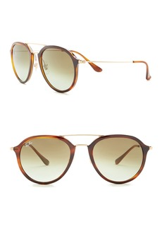 Ray-Ban 62mm Round Sunglasses