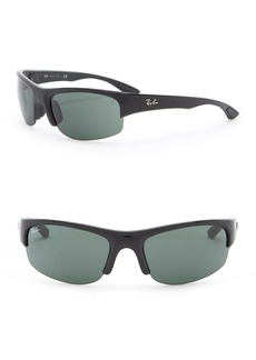 Ray-Ban 62mm Shield Sunglasses