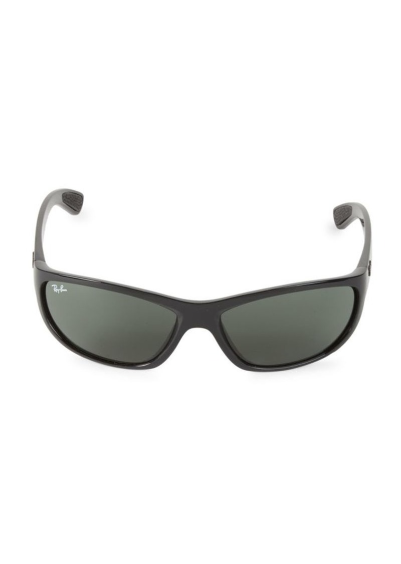 Ray-Ban 63MM Rectangle Sunglasses