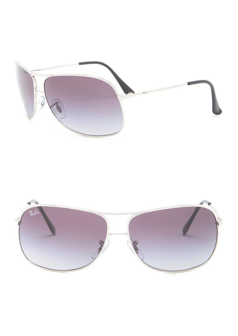 Ray-Ban 64mm Aviator Sunglasses