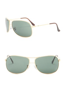 Ray-Ban 64mm Aviator Sunglasses