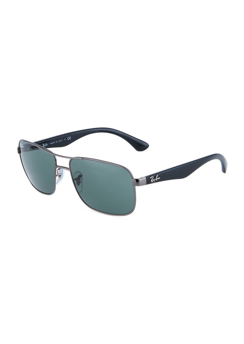Ray-Ban Acetate/Metal Aviator Sunglasses