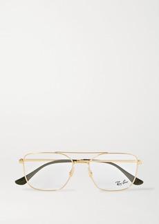 Ray-Ban Aviator Gold-tone Optical Glasses