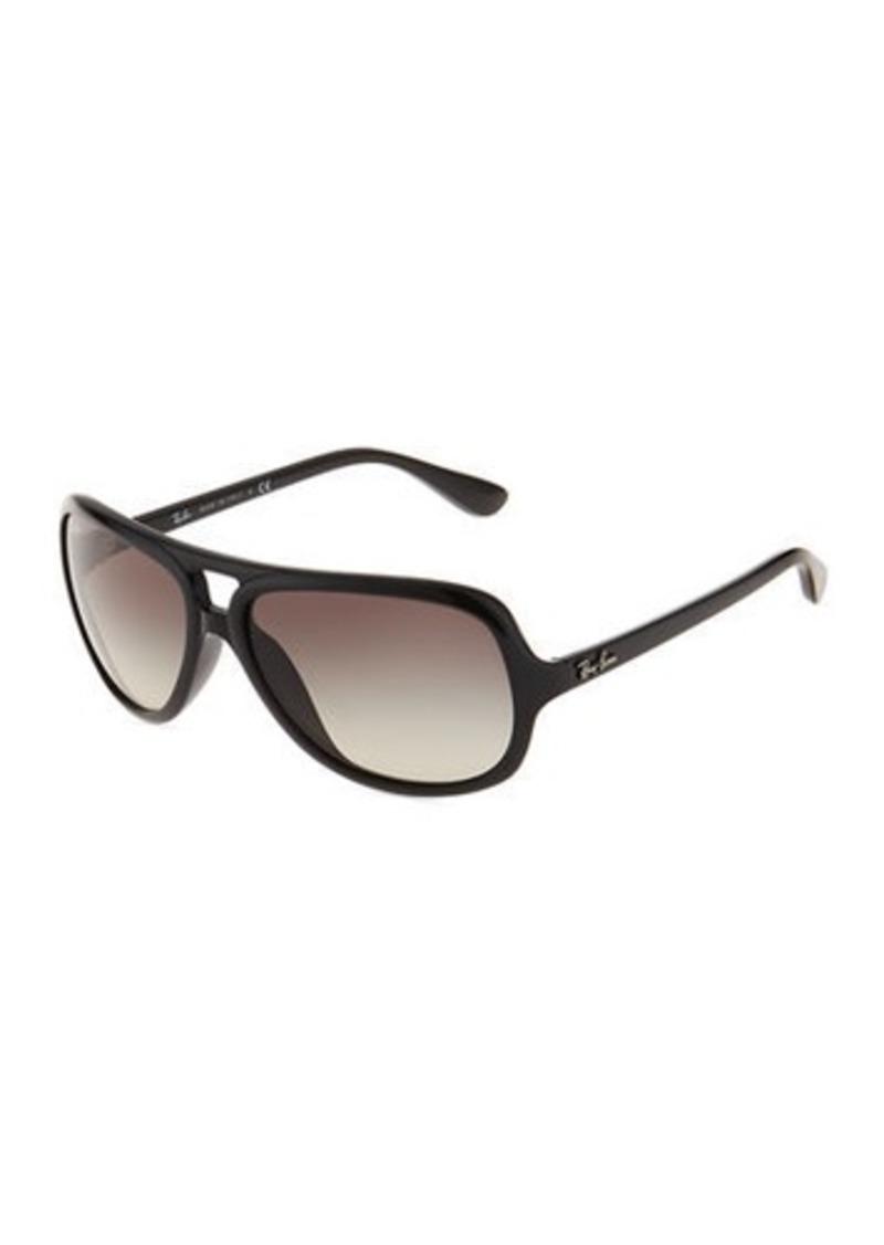 Ray-Ban Aviator Plastic Tortoiseshell Sunglasses