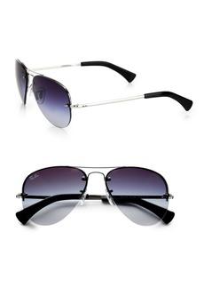 Ray-Ban Aviator Sunglasses/Green